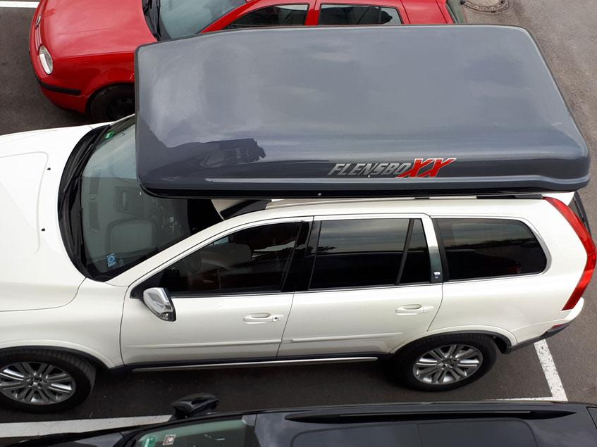 grosse Dachbox auf Volvo XC 90